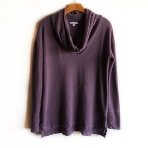 James Perse cowl neck pullover